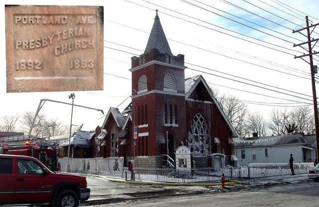 Portland Avenue Presbyterian Church Burns