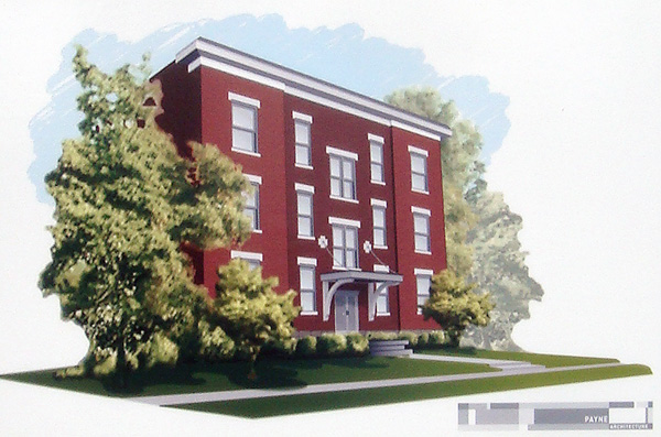 Rendering of 2015 Bonnycastle (by Payne Architecture)