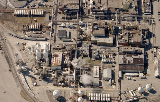 A random chemical plant in Rubbertown