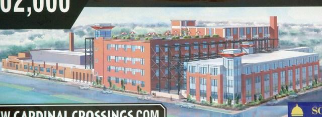 Rendering of the proposed development (courtesy Capstone Development)