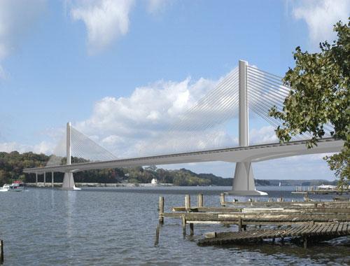 Rendering of East End Bridge (via ORBP)