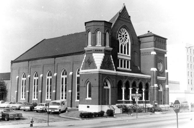 Quinn Chapel on Chestnut Street (Circa 1980 via NRHP / NPS)