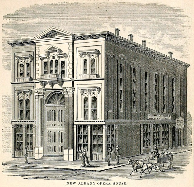 New Albany Opera House (via Industry of Lou & NA)