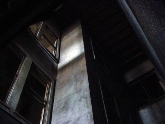 Light well inside the Caperton Block