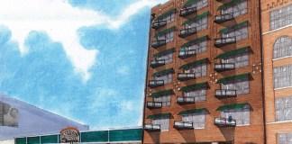 Ice House Lofts rendering (Courtesy Sofo Development)