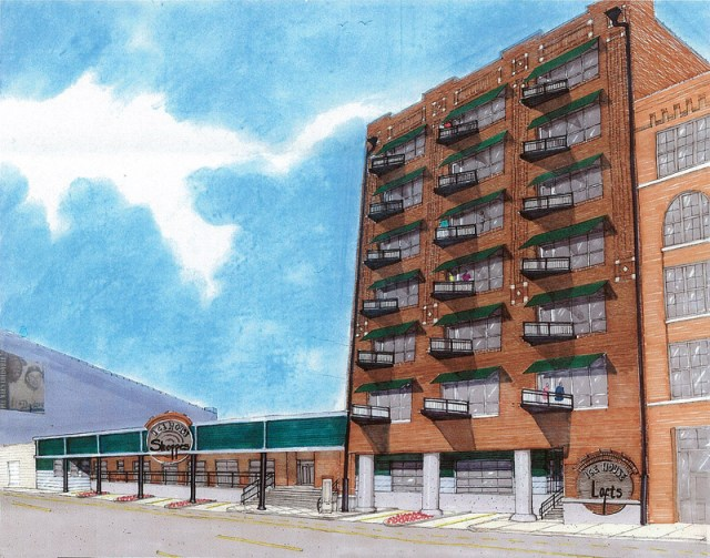 Ice House Lofts rendering (Courtesy Sofo Development)
