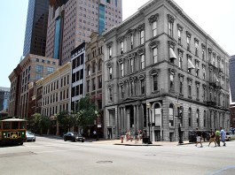 Hamilton Bank Building at 6th & Main (UL Photographic Archives & Diane Deaton-Street))