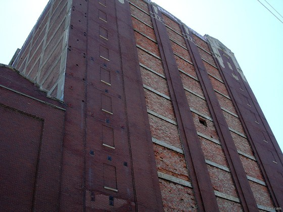 Cold Storage Tower on Logan Street (BS File Photo)