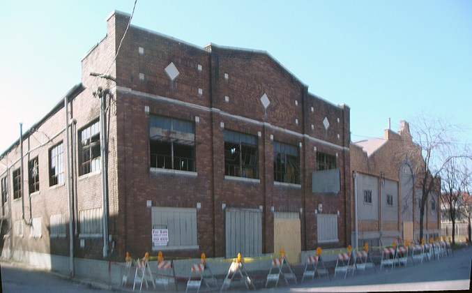 Garvin Place warehouses after the fire (BS File Photo)