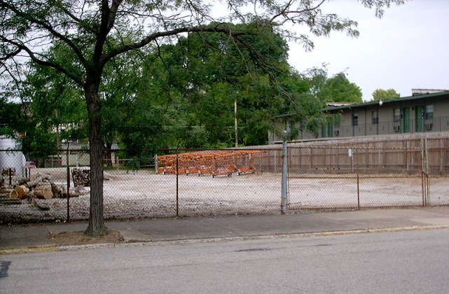 Empty lot included in the warehouse complex (BS File Photo)