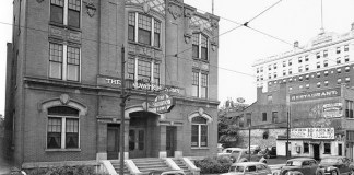 Salvation Army Citadel in 1941 (via U of L Photographic Archives)