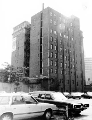 Back of the Tyler Hotel (National Register)