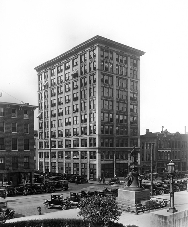 Realty Building from the Courthouse (Courtesy UL Photographic Archives)