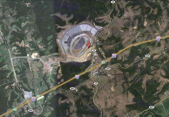 Kentucky Speedway (Courtesy Google Maps)