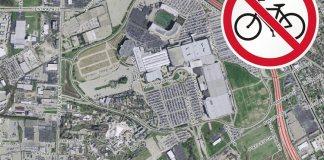 Kentucky Fair & Exposition Center. (Map via Lojic)
