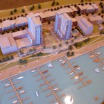 Model of RiverPark Place. (Branden Klayko)