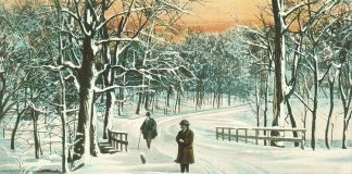A winter scene in Cherokee Park. (Broken Sidewalk Archives)