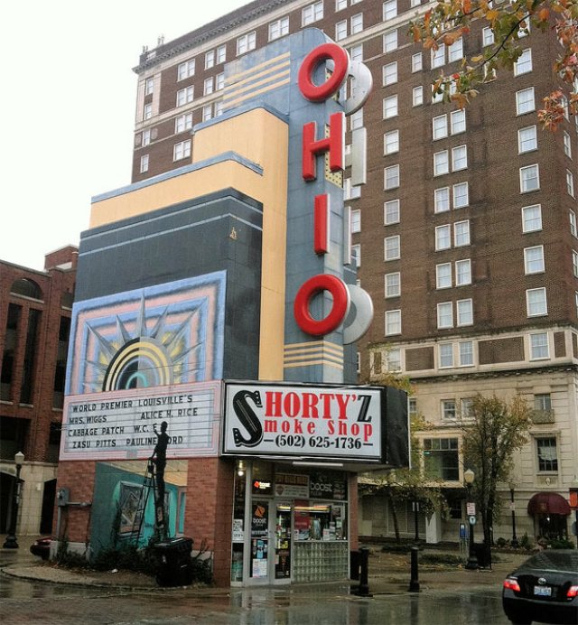 The old Ohio Theater on Fourth Street.