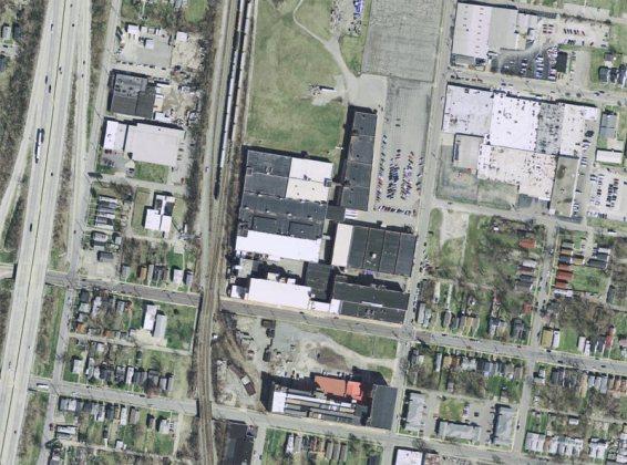 30th-The National Tobacco Company site at 30th & Muhammad Ali (Courtesy Lojic)