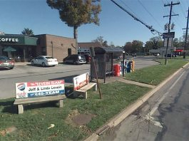 Billboard Benches on Shelbyville Road. (Courtesy Google)