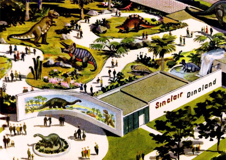 Sinclair Dinoland 1964/1965 New York World's Fair   Sinclair ...