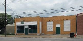 Funeral Director's Vault on East Jefferson Street. (Branden Klayko / Broken Sidewalk)