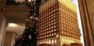 The GingerBrown replica of the Brown Hotel. (Courtesy Brown Hotel)
