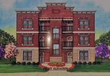 The proposed Montgomery Apartments. (Courtesy Tipster)