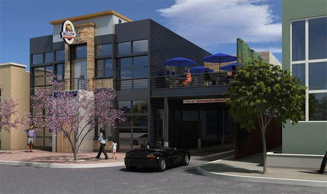 Rendering of the Bardstown Road Mellow Mushroom. (Courtesy Pate Design Group)