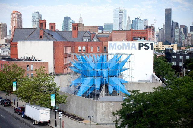 HWKN's Wendy installation at MoMA PS1 in Queens.