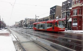 A streetcar in Washington, DC. (Courtesy BeyondDC)