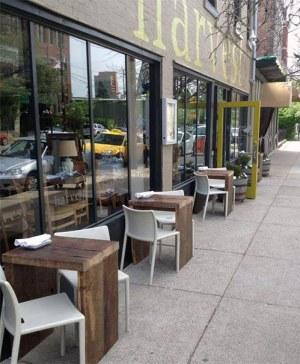 Harvest restaurant on East Market Street. (Courtesy Harvest)