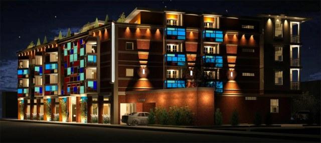 Conceptual rendering of Hotel Louie. (Courtesy Hotel Louie / Joseph & Joseph)