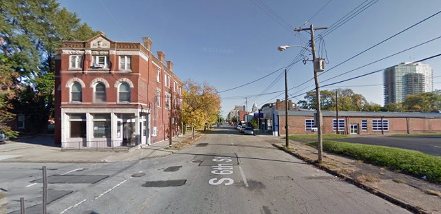 Sixth Street at Breckinridge Street. (Courtesy Google)