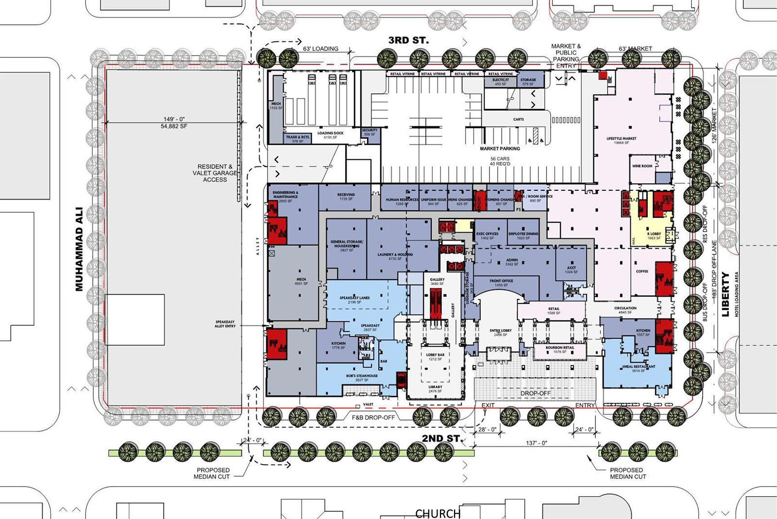 Perfect The Omni us ground floor plan