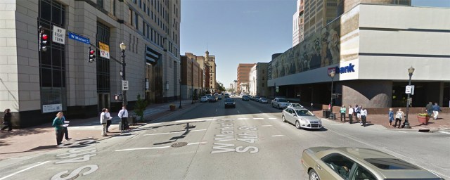 Fourth and Market streets. (Courtesy Google)