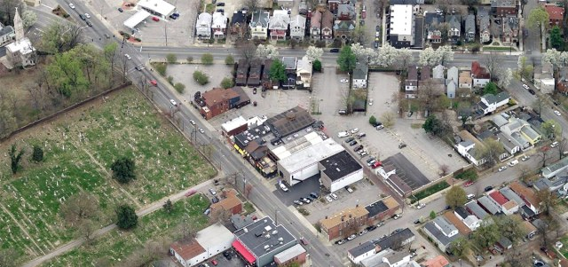 The Phoenix Hill Tavern site. (Courtesy Bing)