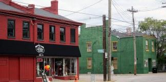 The corner of Campbell Street and Jefferson Street. (Branden Klayko / Broken Sidewalk)
