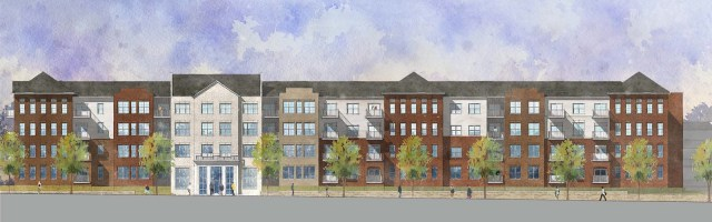 Rendering of the Mercy Apartments. (Courtesy Edwards Companies)