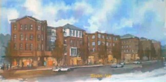 Conceptual rendering of a proposed development on the old Phoenix Hill Tavern. (Edwards Companies / Courtesy Tipster)