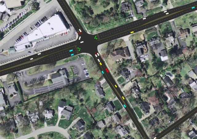 Chenoweth Lane at Brownsboro Road. (Courtesy KYTC)