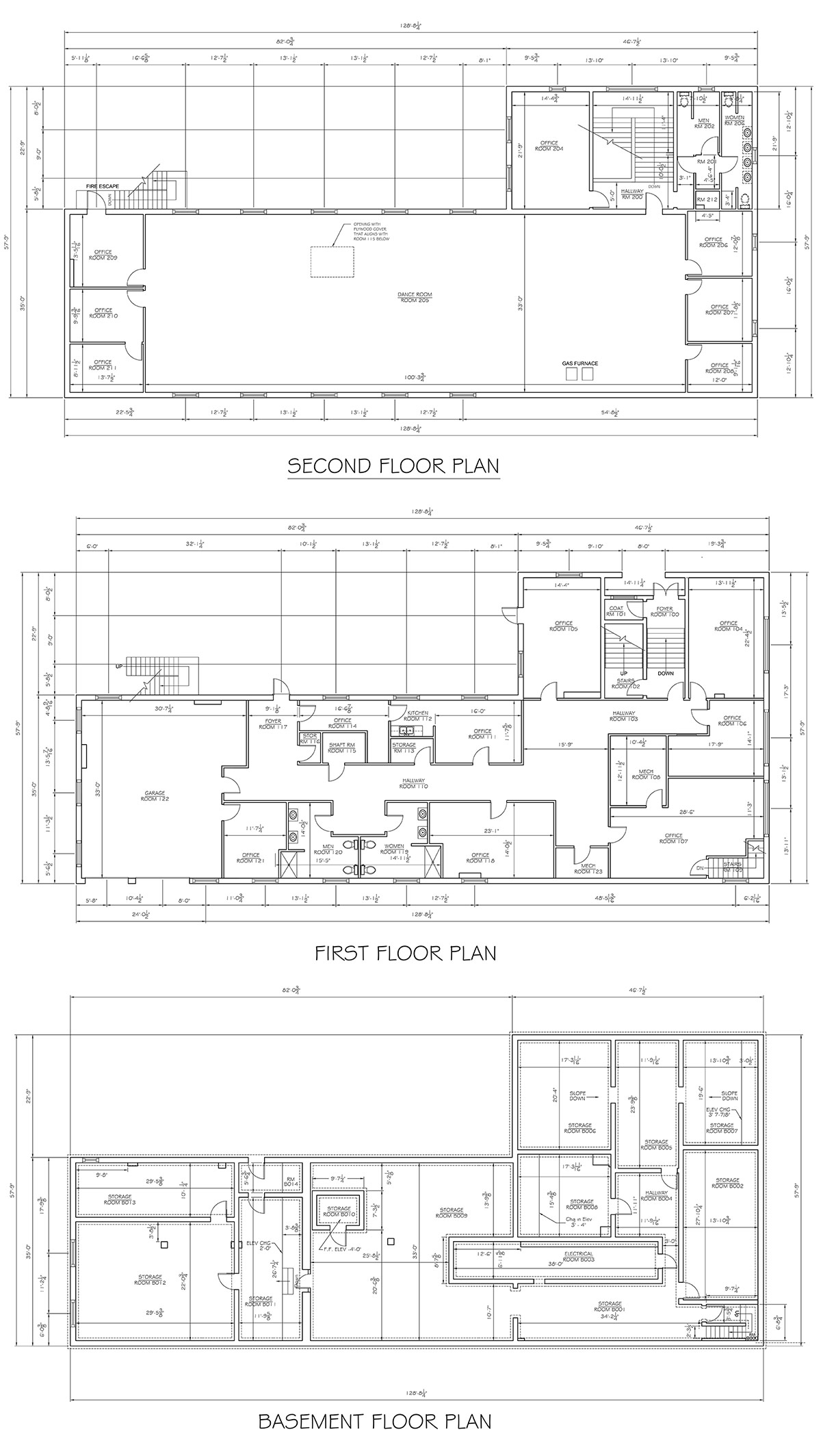(Courtesy Bing) Floor plans, click to enlarge. (Courtesy Metro Louisville)