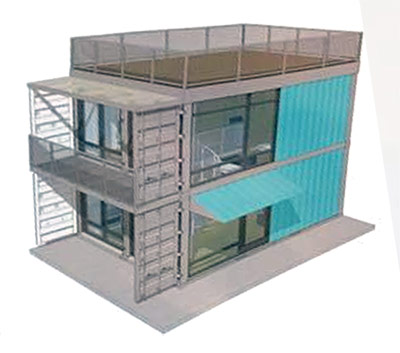 Container Apartments developers thinking outside the box with proposal for shipping