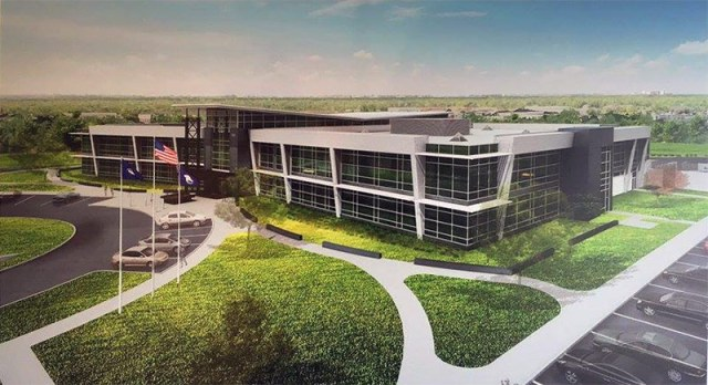Rendering of the new Thornton's headquarters. (Courtesy Thorntons)