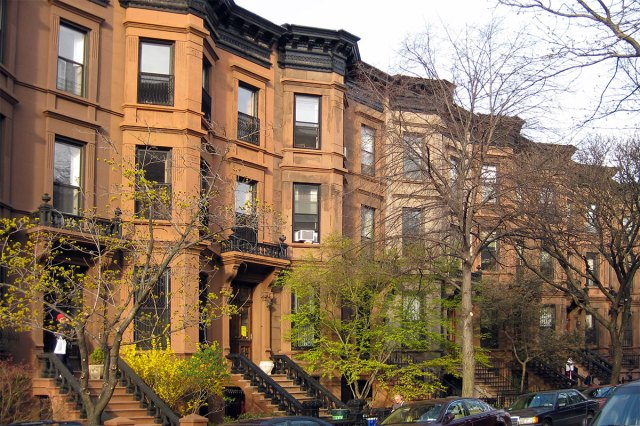 Brownstone rowhouses in Park Slope, Brooklyn. (Wally Gobetz / Flickr)