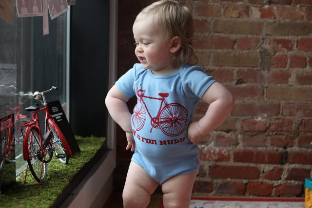 "An ""N is for Nulu"" onesie. (Courtesy Oso)"
