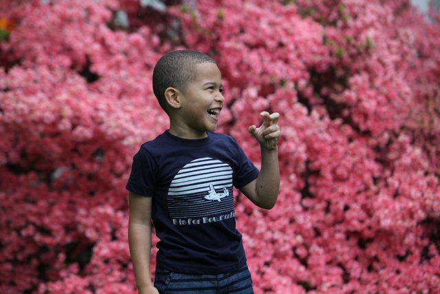 """A """"B is for Bowman Field"""" t-shirt. (Courtesy Oso)"""