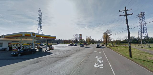 Looking west on River Road toward the intersection with Zorn Avenue. (Courtesy Google)