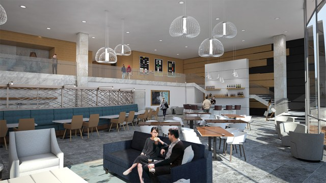 Rendering of the AC Hotel Nulu's lobby. (Courtesy Ron Turnier)