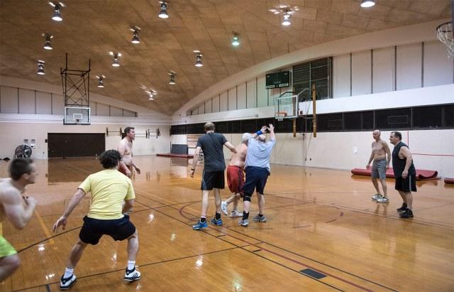 Inside Crawford Gym. (Courtesy UL / Flickr)